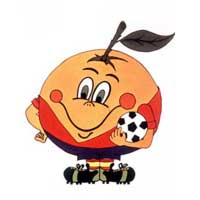 Mascote da Copa de 1982 na Espanha - Naranjito